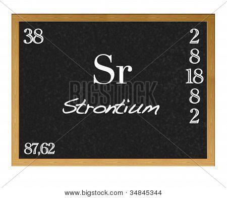 Strontium.