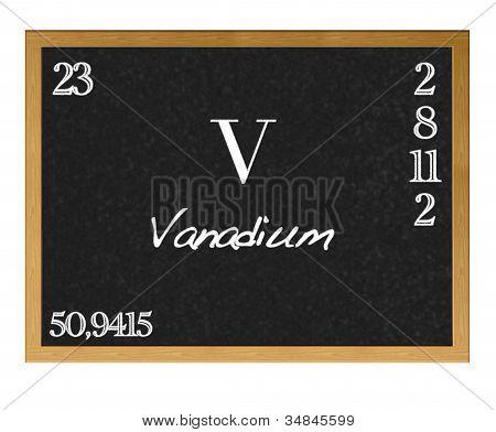 Vanadium.