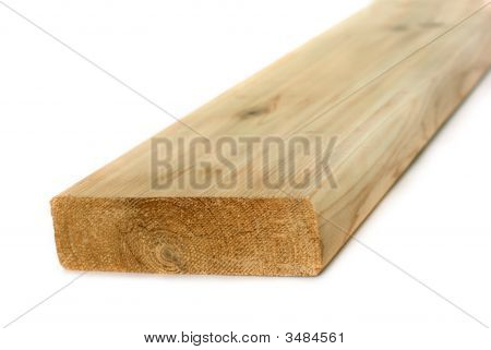 Wood Lumber Isolated