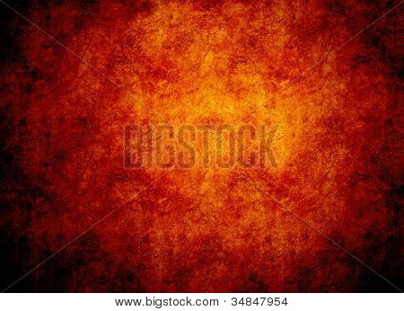 Glowing Hot Rock Background