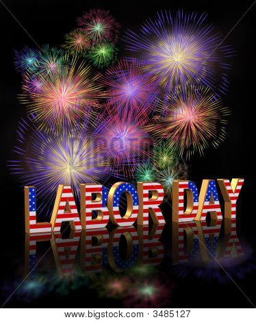 Labor Day Fireworks 3D