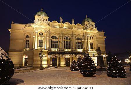 Slowacki Theatre In Krakow