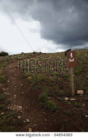Sinal de trilha
