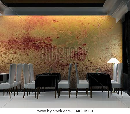 Restaurant In Classical Style