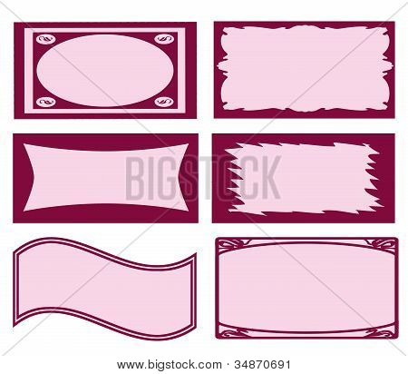 Page Of Business Card Templates