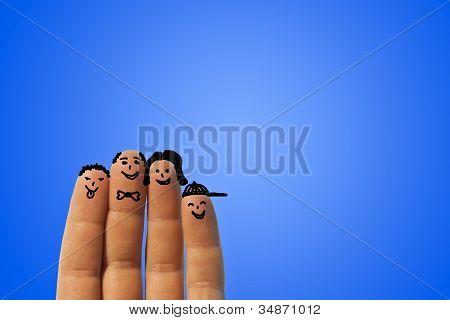 Família do dedo