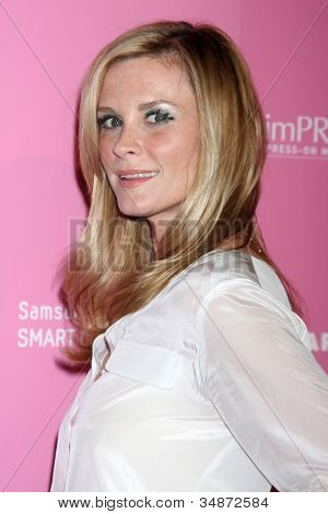 LOS ANGELES - APR 18:  Bonnie Somerville arrives at the 2012 US Hot Hollywood Party  at Greystone Manor on April 18, 2012 in Los Angeles, CA