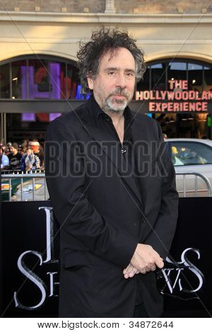 LOS ANGELES - MAY 7: Tim Burton at the premiere of WB Pictures' 'Dark Shadows' at Grauman's Chinese Theater on May 7, 2012 in Los Angeles, California