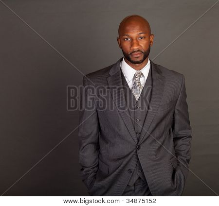 Young Black Business Man