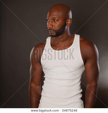 Afroamerikaner Mann passen
