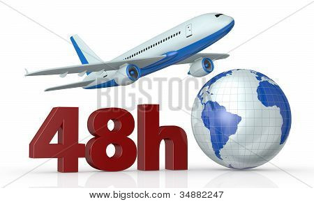 Fast Airplane Transport Service