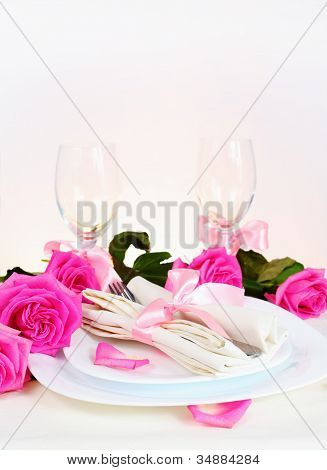 Romantic Dinner For Two Vertical