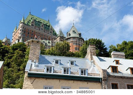 Glimpse Of Quebec City
