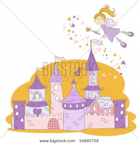 Fairy and princess castle