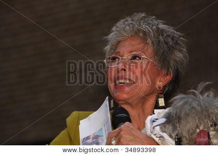 Rita Moreno with Adoptable Friend