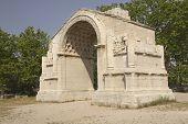 Triumphal Arch In Glanum.