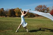 Dancer On A Beautiful Sunny Day poster