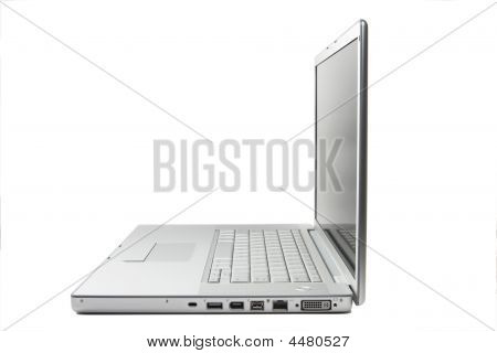 Business Laptop Notebook Over White