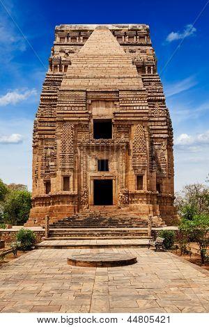 Teli Ka Mandir Hindu temple in Gwalior fort. Gwalior, Madhya Pradesh, India