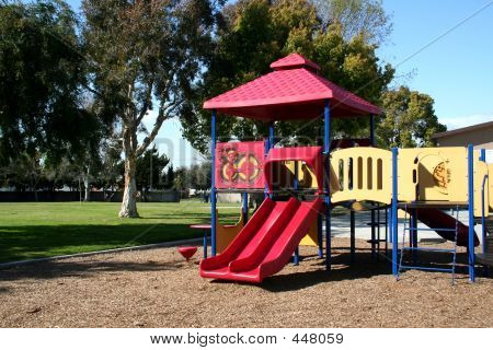 Suburban Toddler's Playground