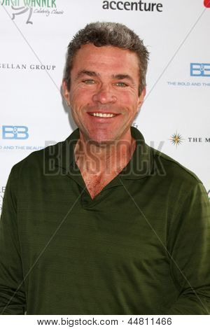 LOS ANGELES - APR 15:  John J. York at the Jack Wagner Celebrity Golf Tournament benefitting the Leukemia & Lymphoma Society at the Lakeside Golf Club on April 15, 2013 in Toluca Lake, CA