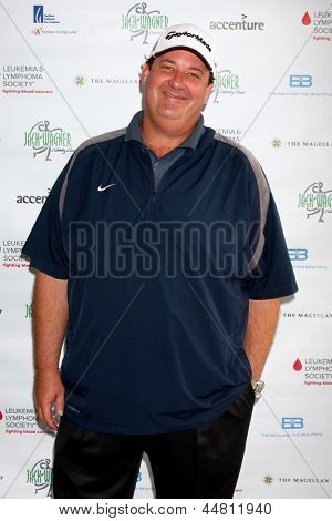 LOS ANGELES - APR 15:  Brian Baumgartner at the Jack Wagner Celebrity Golf Tournament benefitting the Leukemia & Lymphoma Society at the Lakeside Golf Club on April 15, 2013 in Toluca Lake, CA