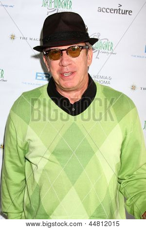 LOS ANGELES - APR 15:  Tim Allen at the Jack Wagner Celebrity Golf Tournament benefitting the Leukemia & Lymphoma Society at the Lakeside Golf Club on April 15, 2013 in Toluca Lake, CA