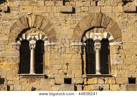 Volterra (pisa) - Two Mullioned Windows