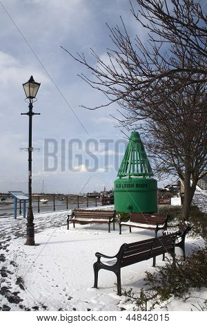 A Winter's Day At Leigh-on-sea, Essex, England