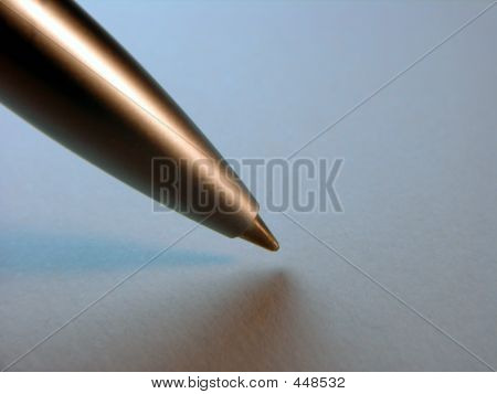 Lefthanded Man Signing