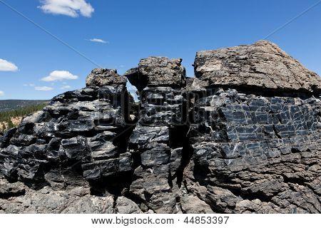 Obsidian Lava Flow