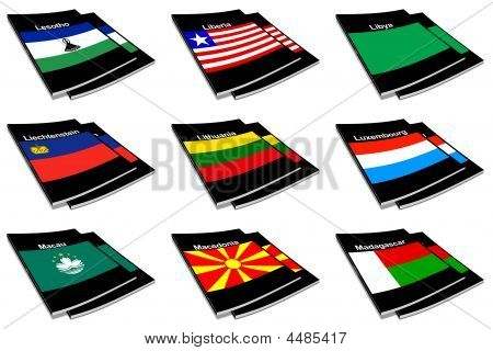 World Flag Book Collection