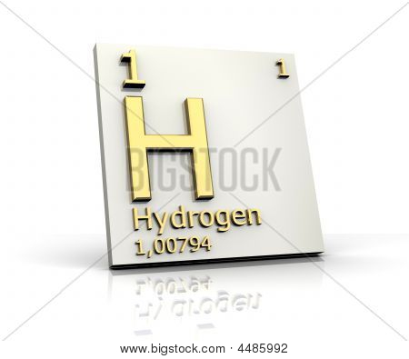 Hydrogen Form Periodic Table Of