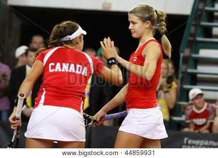 Fedcup Tennis Game Ukraine Vs Canada
