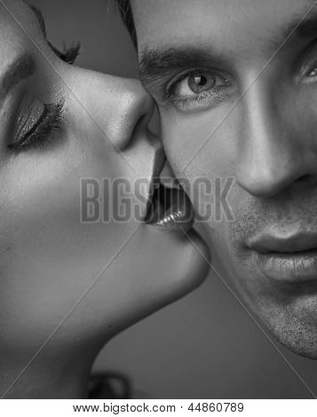 Portrait of a sensual couple