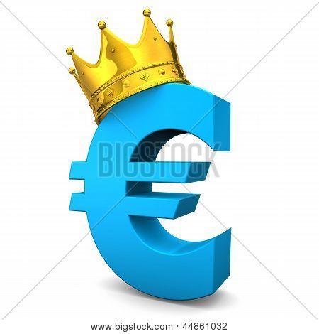Euro Corona de oro