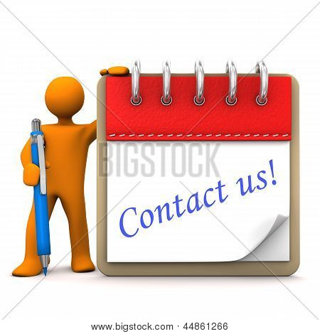 Manikin Notepad Contact Us