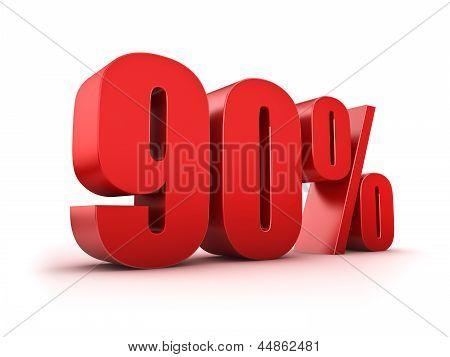 90 Por cento