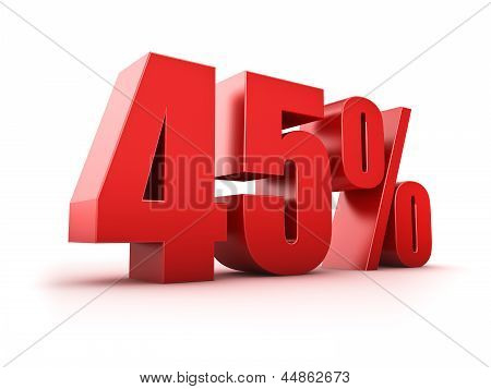 45 Percent