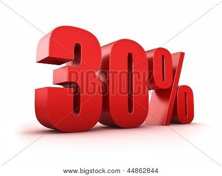 30 Por cento