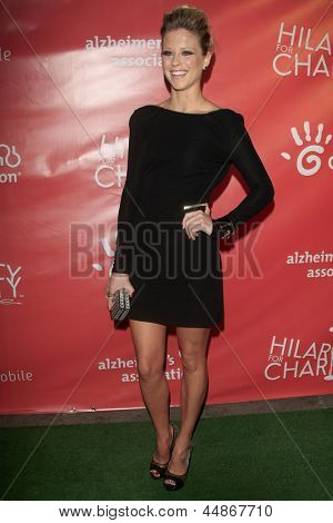 LOS ANGELES - APR 25:  Katrina Begin arrives at the Second Annual Hilarity For Charity benefiting The Alzheimer's Association  at the Avalon  on April 25, 2013 in Los Angeles, CA