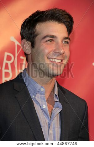 LOS ANGELES - APR 25:  James Wolk arrives at the Second Annual Hilarity For Charity benefiting The Alzheimer's Association  at the Avalon  on April 25, 2013 in Los Angeles, CA