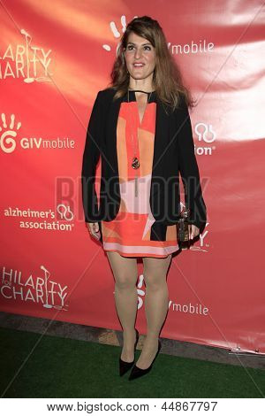LOS ANGELES - APR 25:  Nia Vardalos arrives at the Second Annual Hilarity For Charity benefiting The Alzheimer's Association  at the Avalon  on April 25, 2013 in Los Angeles, CA