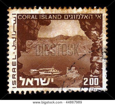 Landscapes Of Israel - Coral Island