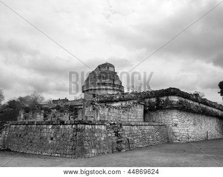 Chichen Itza Mayan Ruins Observatory