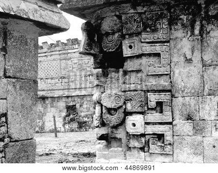 Chichen Itza Mayan Ruins Nunnery