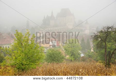 Fortified Medieval Church of Biertan, Transylvania, Romania, Europe