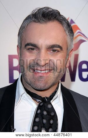 LOS ANGELES - APR 23:  Martyn Lawrence-Bullard arrives at the 7th Annual BritWeek Festival