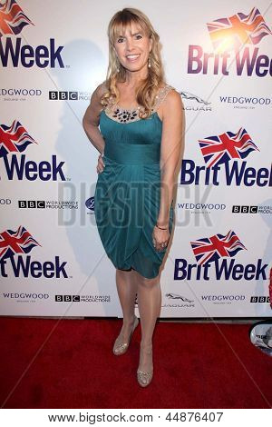 LOS ANGELES - APR 23:  Julia Verdin arrives at the 7th Annual BritWeek Festival