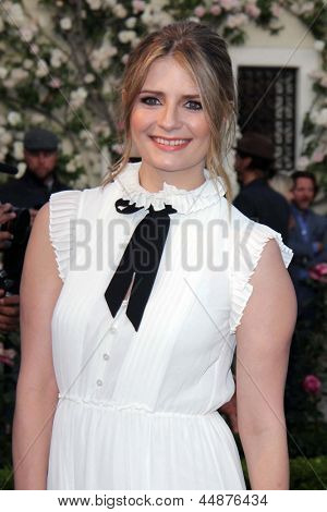 LOS ANGELES - APR 23:  Mischa Barton arrives at the 7th Annual BritWeek Festival